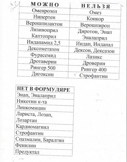 памятка - Vklinike.com