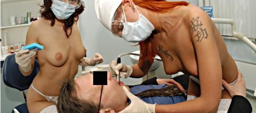Клиника эротической стоматологии: снятие стресса «голой грудью» или пиар-ход?