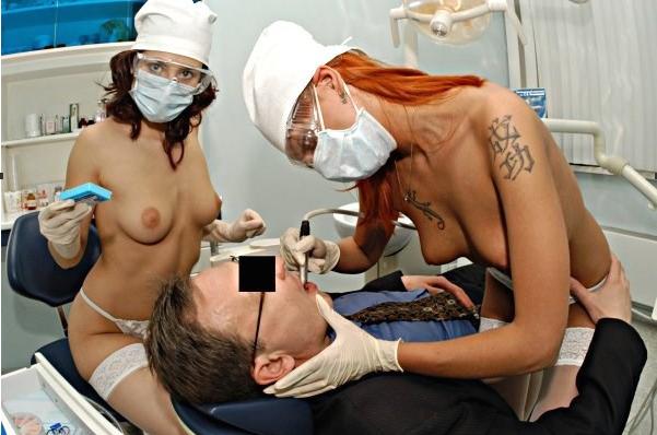 смотреть порно у стоматолога