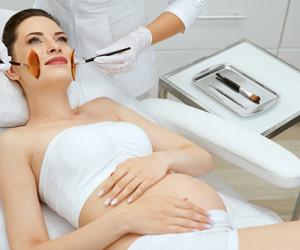 Косметические процедуры во время беременности