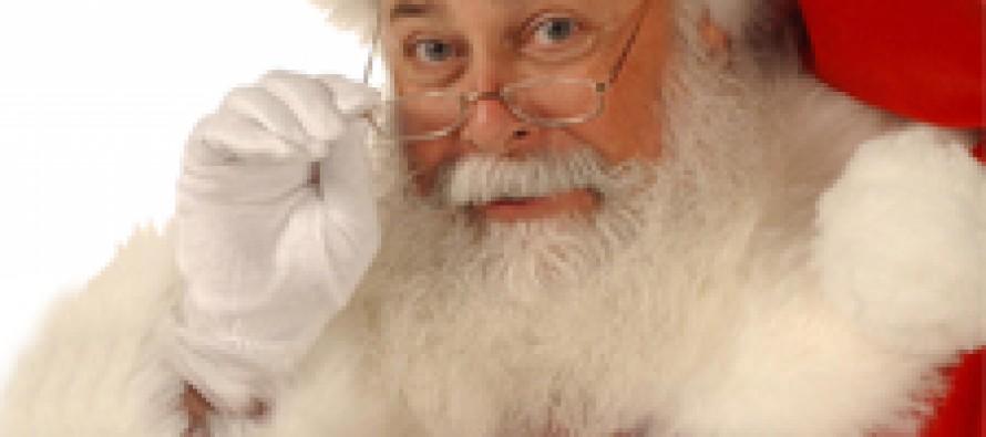 Санта-Клаус подает плохой пример, считают медики