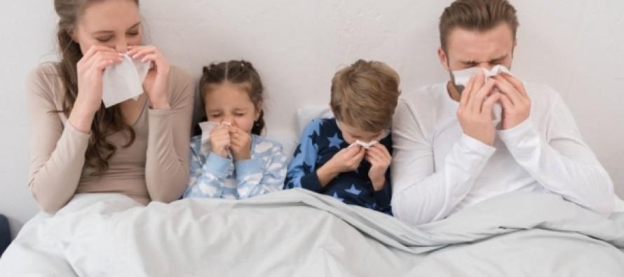 В 32 регионах России превышен эпидпорог по ОРВИ и гриппу