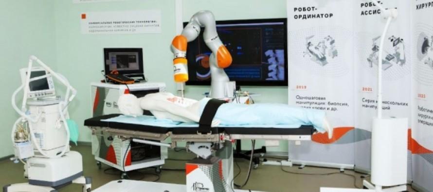 Российские ученые начали разработку робота-хирурга
