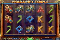 Игровые автоматы: слот «Pharaoh's Temple»